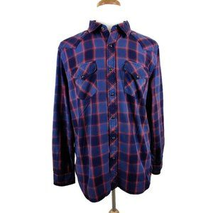 American Eagle Outfitters Western Snap front Shirt